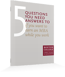 Earn an MBA While You Work