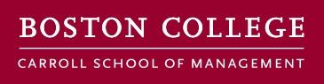 Boston College - Carroll School of Management